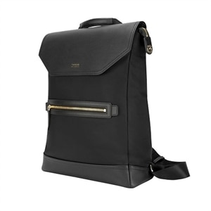 Targus Newport Convertible 2-in-1 Messenger - Laptop carrying backpack - 15-inch - black