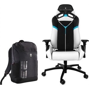 Alienware S5000 Gaming Chair and Alienware Pro Backpack