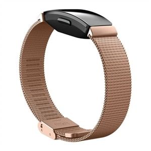 Fitbit Metal Mesh - Watch strap - rose gold - for Fitbit Inspire