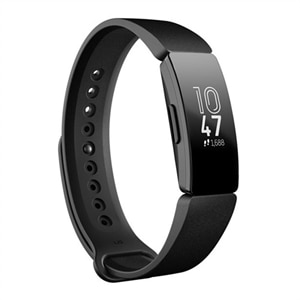 Fitbit Inspire activity tracker with band - black