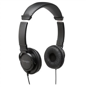 Kensington Hi-Fi Headphones - Headphones - on-ear - wired - 3.5 mm jack - black