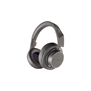 Plantronics Backbeat GO 600 - Headset - full size - Bluetooth - wireless - noise isolating - gray