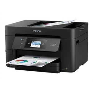 Epson WorkForce Pro EC-4020 - Multifunction printer - color - ink-jet - Legal (8.5 in x 14 in) (original) - A4/Legal (media) - up to 20 ppm (copying) - up to 20 ppm (printing) - 250 sheets - 33.6 Kbps - USB 2.0, LAN, Wi-Fi(n), USB host, NFC