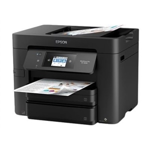 Epson WorkForce Pro EC-4030 - Multifunction printer - color - ink-jet - Legal (8.5 in x 14 in) (original) - A4/Legal (media) - up to 20 ppm (copying) - up to 20 ppm (printing) - 500 sheets - 33.6 Kbps - USB 2.0, LAN, Wi-Fi(n), USB host, NFC