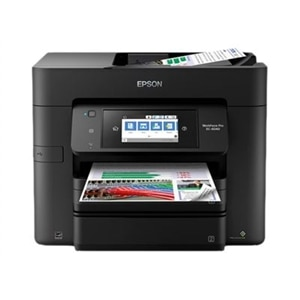 Epson WorkForce Pro EC-4040 - Multifunction printer - color - ink-jet - Legal (8.5 in x 14 in) (original) - A4/Legal (media) - up to 22 ppm (copying) - up to 24 ppm (printing) - 500 sheets - 33.6 Kbps - USB 2.0, LAN, Wi-Fi(n), USB host, NFC