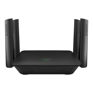 4-port Linksys RE9000 - Wi-Fi range extender - 4 ports - GigE - Wi-Fi - 2.4 GHz (1 band) / 5 GHz (2 bands)