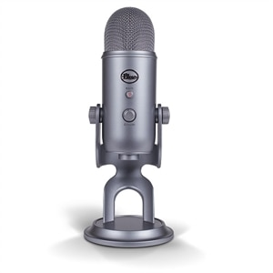 Blue Microphones Yeti - Microphone - USB - silver