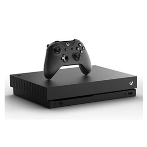 Factory Recertified Xbox One X Console + Power A Enhanced Wireless Controller + Power A Chat Headset + NBA 2k18, Injustice 2 Legendary Edition, and XCOM 2