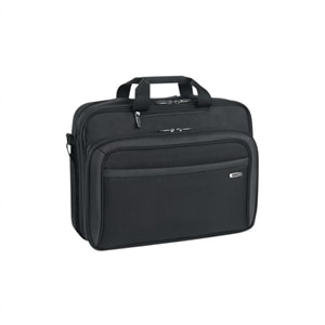SOLO Sterling Laptop Portfolio CLA314-4 - Laptop carrying case - 17-inch - Black
