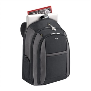 SOLO Pro CheckFast Backpack - Laptop carrying backpack - 16-inch - Black