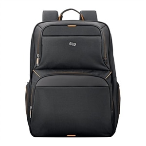 SOLO Urban Backpack - Laptop carrying backpack - 17.3-inch - Black, Orange
