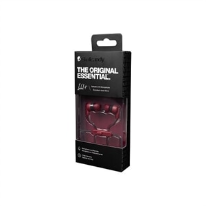 Skullcandy Ink'D+ - Earphones with mic - in-ear - wired - 3.5 mm jack - noise isolating - black