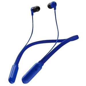 Skullcandy Ink'D+ Wireless - Earphones with mic - in-ear - neckband - Bluetooth - wireless - cobalt blue