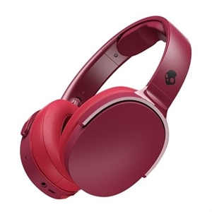 Skullcandy HESH 3 - Headphones with mic - full size - Bluetooth - wireless - noise isolating - black, red, moab