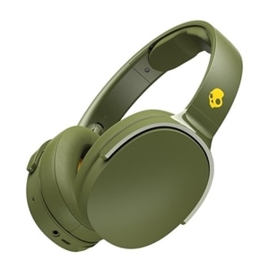 Skullcandy HESH 3 - Headphones with mic - full size - Bluetooth - wireless - noise isolating - yellow, olive, moss