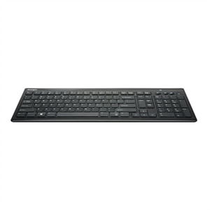 Kensington SlimType Wireless Keyboard - Keyboard - wireless - 2.4 GHz - US - black