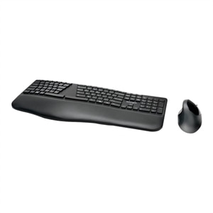 Kensington Pro Fit Ergo Wireless Keyboard and Mouse - keyboard and mouse set - US - black