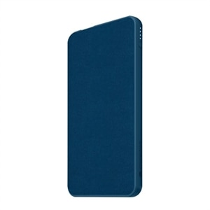 mophie powerstation mini (fabric) - Power bank - 5000 mAh - 3 output connectors (2 x USB, USB-C) - navy
