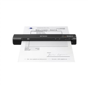 Epson WorkForce ES-60W - Sheetfed scanner - Letter - 600 dpi x 600 dpi - up to 300 scans per day - USB 2.0, Wi-Fi(n)