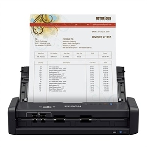 Epson WorkForce ES-300WR - Accounting Edition - document scanner - portable - USB 3.0, Wi-Fi(n)
