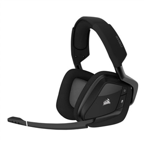 CORSAIR Gaming VOID RGB ELITE - Headset - full size - 2.4 GHz - wireless - carbon