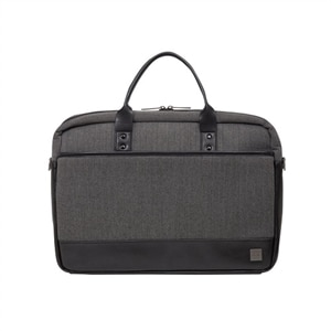 Knomo Princeton - Laptop carrying case - 15.6-inch - gray