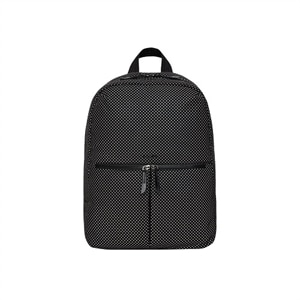 Knomo Berlin - Laptop carrying backpack - 15-inch - black hardware, black reflective