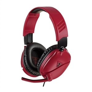 Turtle Beach RECON 70P - Headset - full size - wired - 3.5 mm jack - red