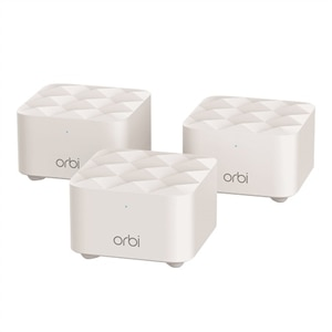 NETGEAR Orbi RBK13 - Kit - Wi-Fi system - up to 4,500 sq.ft - mesh - GigE - 802.11a/b/g/n/ac - Dual Band