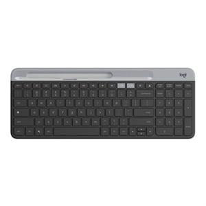 Logitech Slim Multi-Device K580 - Keyboard - Bluetooth, 2.4 GHz (Chrome Certified)