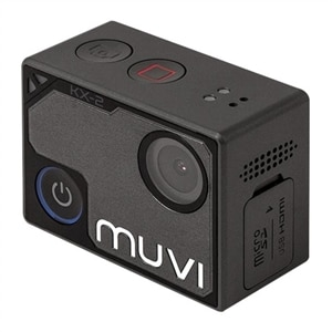 Veho muvi KX-2 NPNG - Action camera - mountable - 4K / 30 fps - 12.0 MP - Wi-Fi - underwater up to 131.2 ft