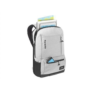 SOLO Varsity Collection Draft Backpack - Laptop carrying backpack - 15.6-inch - gray