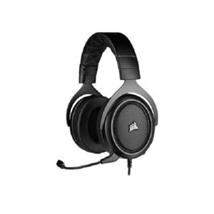 CORSAIR Gaming HS50 PRO STEREO - Headset - full size - wired - 3.5 mm jack - carbon
