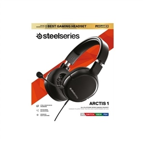SteelSeries Arctis 1 - Headset - full size - wired - 3.5 mm jack