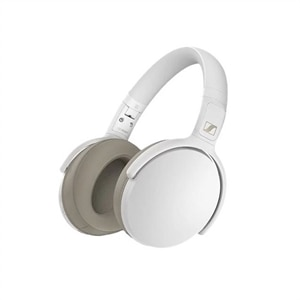 Sennheiser HD 350BT - Headphones with mic - full size - Bluetooth - wireless - white