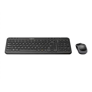 Logitech MK360 Keyboard and Mouse Combo - Wireless - Black