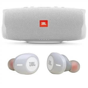 JBL Tune 120TWS + JBL Charge 4 Bluetooth Speaker