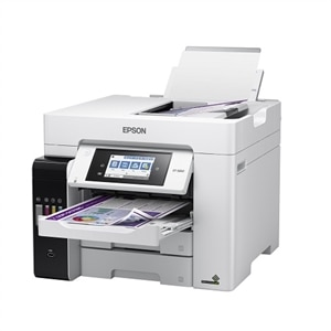 Epson EcoTank Pro ET-5850 Wireless Color All-in-One Supertank Printer