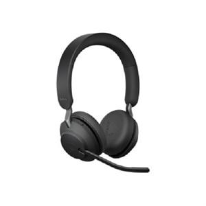 Jabra Evolve2 65 Uc Stereo Headset On Ear Bluetooth Wireless Usb Noise Isolating Black Dell Usa
