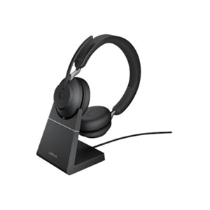 Jabra Evolve2 65 Usb A Uc Stereo With Charging Stand Black Dell Usa