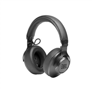 JBL Club ONE - Headphones with mic - full size - Bluetooth - wireless - active noise canceling - black