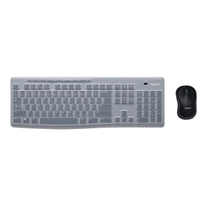 Logitech MK270 Wireless Combo for EDU - Keyboard and mouse set - wireless - 2.4 GHz - academic
