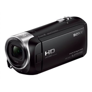 Sony - Handycam CX405 Flash Memory Camcorder - Black HDRCX405/B
