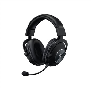 Logitech G Pro - Headset - full size - wired - 3.5 mm jack - noise isolating - black