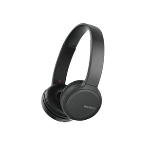 Sony WH-CH510 - Headphones with mic - on-ear - Bluetooth - wireless - NFC - black