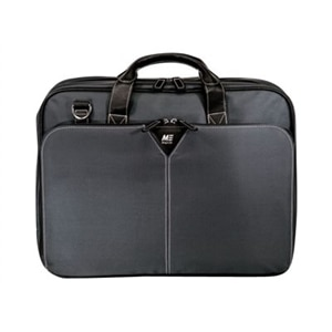 "Mobile Edge 16"" Graphite Nylon Briefcase Notebook Carrying case - Graphite"