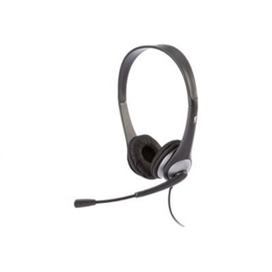 Cyber Acoustics AC 204 - Headset - on-ear - wired - 3.5 mm jack