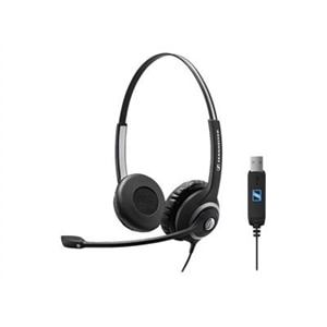 Sennheiser Circle SC 260 USB - Headset - on-ear - wired - active noise canceling - USB - black, silver
