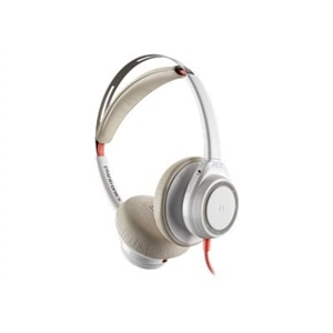 Poly Blackwire 7225 - Headset - on-ear - wired - active noise canceling - USB-C - white
