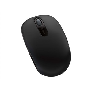 Microsoft Wireless Mobile Mouse 1850 - mouse - 2.4 GHz - black